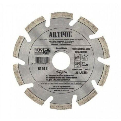 Disque diamant 230 x 22,2 asphalte béton laser