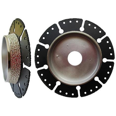 Disque Diamant A Couper Et Chanfreiner Huggy D 125 X Al 22 23 X Ep 2 2 Mm Pour Tuyau Fonte Acier Pvc Diamwood Platinum