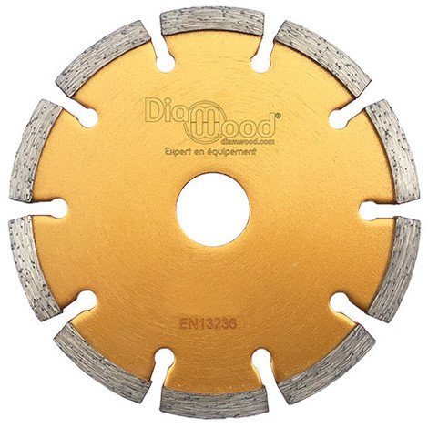 Disque diamant à déjointoyer D. 230 x Al. 22,23 x Ht. 7 x ép. 8 mm - béton, matériaux de construction - Diamwood