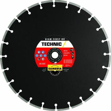 Disque diamant béton Technic Diam First BV - plusieurs modèles disponibles