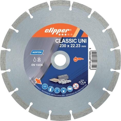 Disque diamant CLA Uni 26100 230x22,23 mm