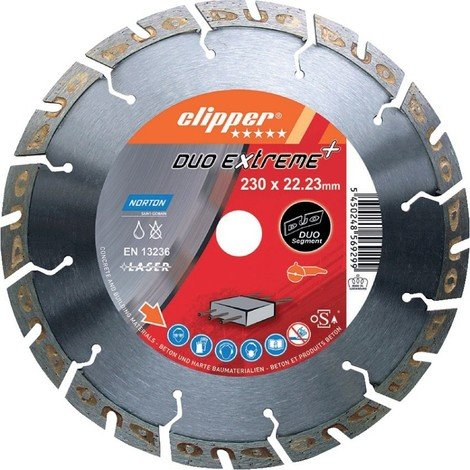 Disque diamant ClipperDuo Extreme+ 230x22,23mm