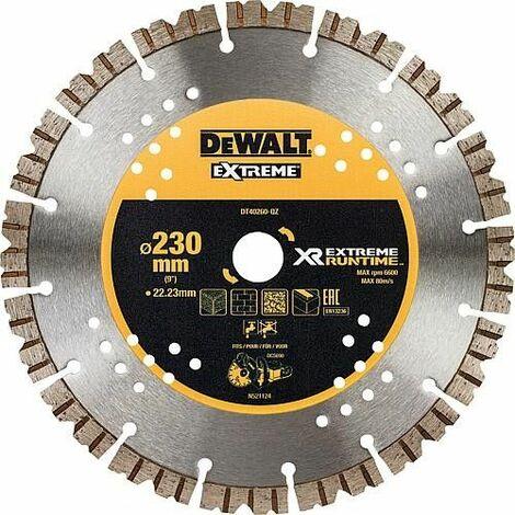 Disque diamant DeWALT XR Extreme Runtime 230x22,23mm