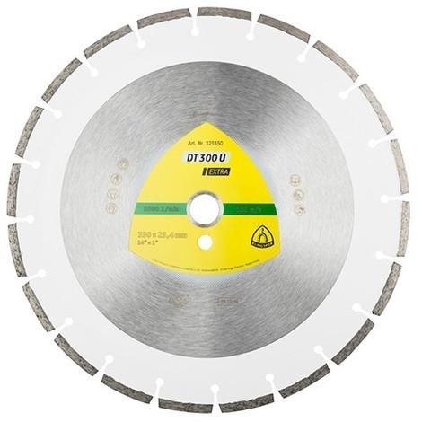 Disque diamant EXTRA DT 300 U D. 350 x 2,8 x Ht. 7 x 30 mm - Matériaux - 325352 - Klingspor