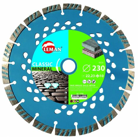 disque diamant mineral 230x22.23 ht 7 -- gamme pro