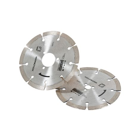 Disque diamant pour scie circulaire Holzmann DBS125 (Lot de 2)