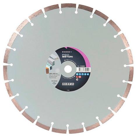 Disque diamant PRO BÉTON D. 300 x 25,4 x H 12 mm Béton / Béton armé - 11130049 - Sidamo
