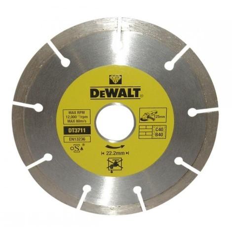 """main image of """"Disque diamant segmenté DEWALT Ø 125 MM - DT3711"""""""