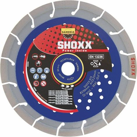 Disque Diamant Shoxx Gt17 Power -- Samedia