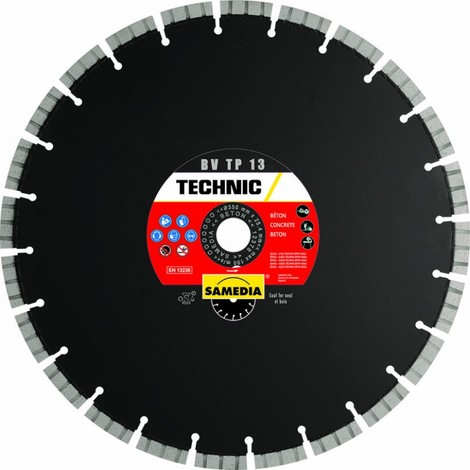 Disque Diamant Technic Bv Tp 13 -- Samedia