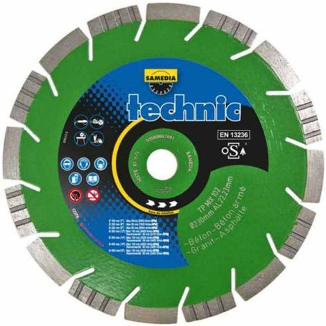 Disque Diamant Technic Tp Mix 102 -- Samedia