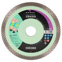 Disque diamant ULTRA CÉRAM D. 125 x 22,23 x H 10 mm Grès céram / faïence - 11130025 - Sidamo - -