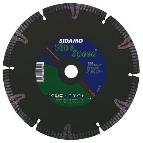 cea1e9a22003b Disque diamant ultra speed tuile beton diam. 230 x 22.2 mm asegments