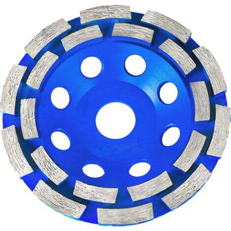 Disque diamanté à poncer le béton double piste Ø125 mm x 22.2 mm