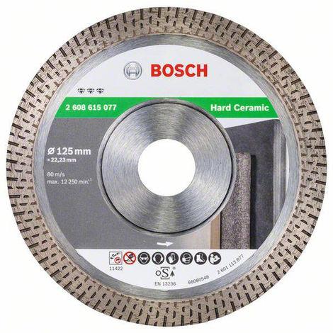 "main image of ""Disque diamanté Best Hard Ceramic BOSCH 125 mm - 608615077"""