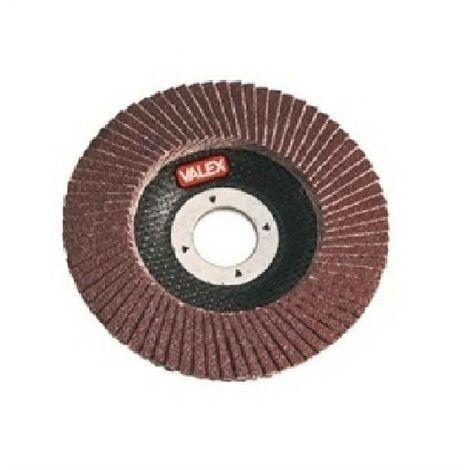 Disque d'oxyde d'aluminium abrasif pour métaux granulés lamelles 60 1464647