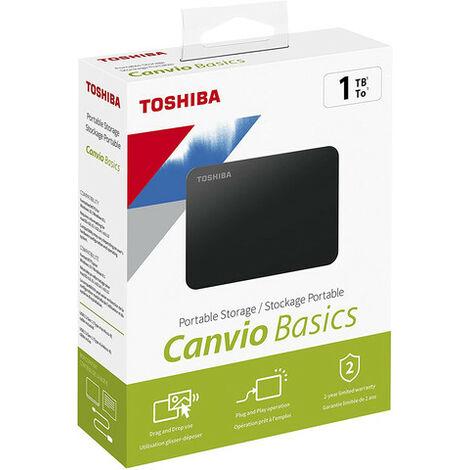 Disque dur externe Toshiba 1000Go HDTB410EK3AA (Noir) (HDTB410EK3AA)