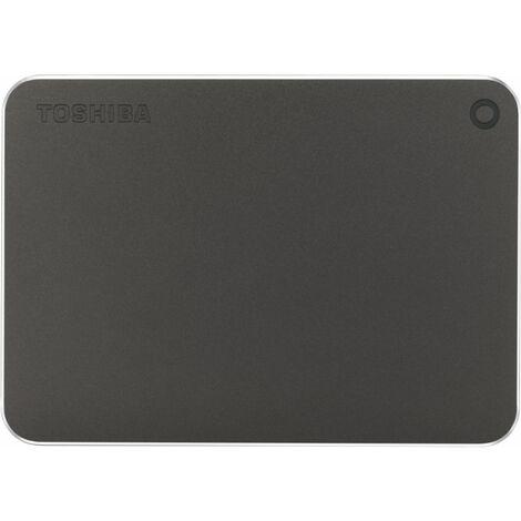 Disque dur externe Toshiba Canvio Premium 1TB HDTW210EB3AA (Gris - Noir) (HDTW210EB3AA)