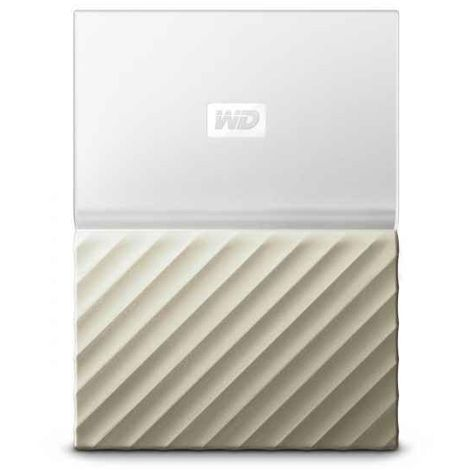 Disque dur externe WD My Passport Ultra 2000Go WDBFKT0020BGD-WESN (Or - Blanc)