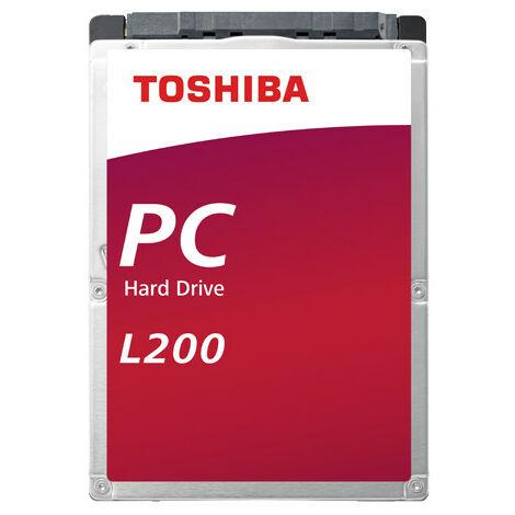 Disque dur interne Toshiba L200 - Slim Laptop PC 1To 7mm - Serial ATA HDWL110UZSVA (HDWL110UZSVA)