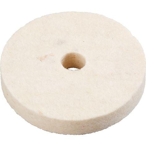 disque flanelle cousue pour polissage 125x15x13 mm