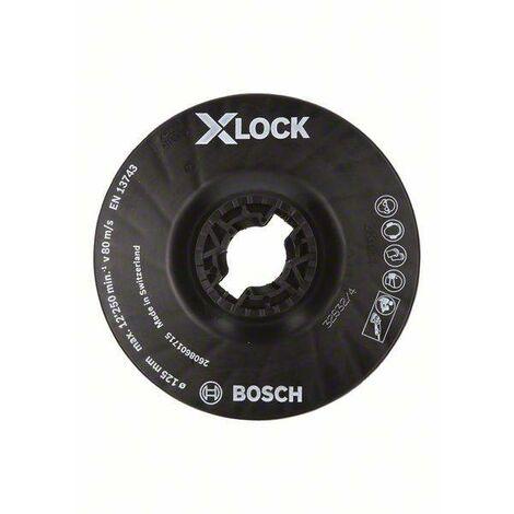 Disque fibre ceramic 125mm x-lock - BOSCH