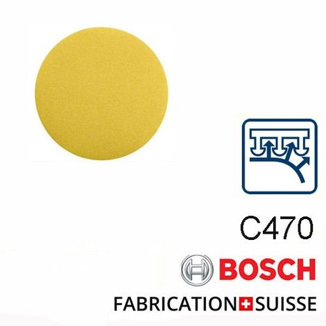 disque girafe Bosch 225 mm sans trou (grain 80 à 220)
