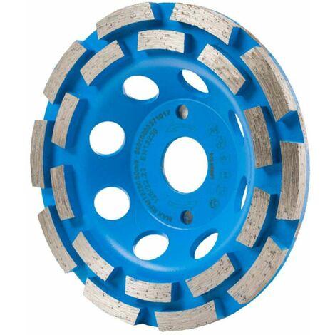 Disque plateau double pistes béton125mm