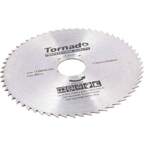 Disque Scie circulaire bois 115mm 60Z 22,2 sans ...