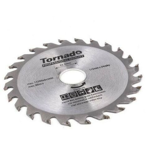 Disque Scie circulaire bois 185mm 24 de ...