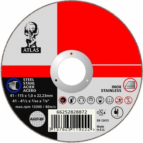disque tronconner 230x3,0x22,2