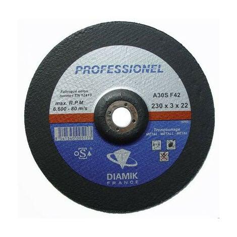 DISQUE TRONCONNER ACIER 230 X 3,2 X 22