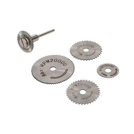 Disques à tronçonner métal pour mini perceuse