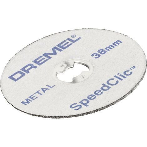 Disques à tronçonner SpeedClic™ Dremel® SC456 Dremel SC456 2615S456JC Ø 38 mm 5 pc(s)
