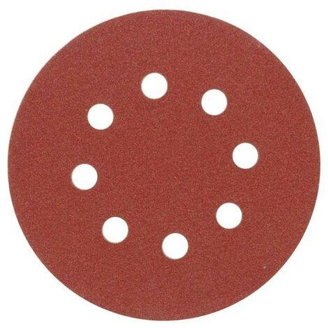 Disques abrasifs 225 mm, P240, avec 8 trous, jeu 3p.