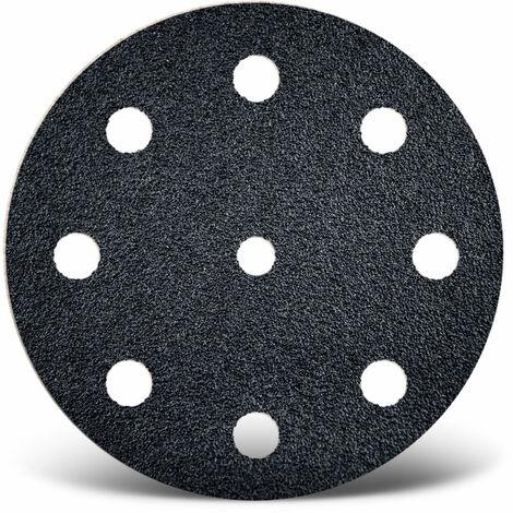 Disques abrasifs auto-agrippants MENZER, carbure de silicium, Ø 125 mm, G24–800