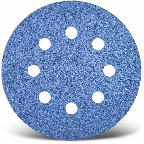 Disques abrasifs auto-agrippants MENZER, corindon de zirconium, Ø 125 mm, G24–120