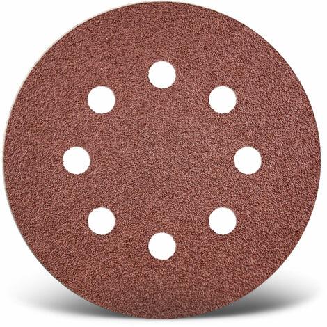 Disques abrasifs auto-agrippants MENZER, corindon normal, Ø 115 mm, G24–240
