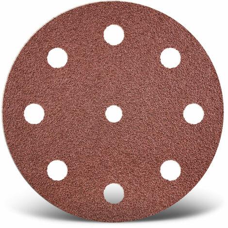 Disques abrasifs auto-agrippants MENZER, corindon normal, Ø 125 mm, G24–240