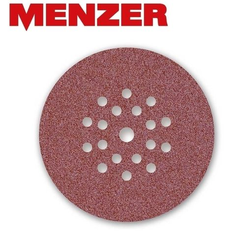 Disques abrasifs auto-agrippants MENZER, corindon normal, Ø 225 mm, G16–240