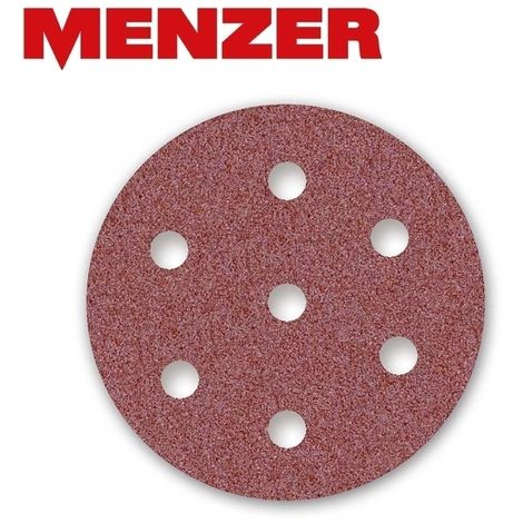 Disques abrasifs auto-agrippants MENZER, corindon normal, Ø 90 mm, G24–240
