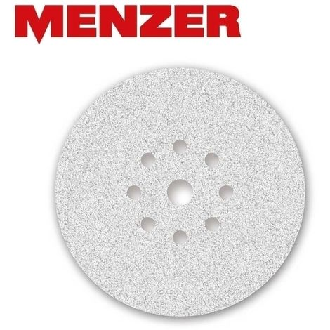 Disques abrasifs auto-agrippants MENZER, corindon normal avec stéarate, Ø 225 mm, G40–400