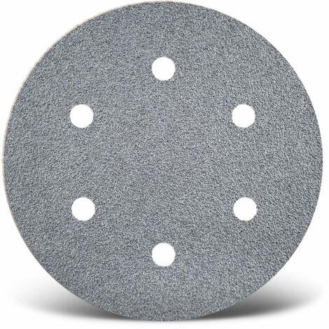 Disques abrasifs auto-agrippants MENZER, corindon semi-précieux avec stéarate, Ø 225 mm, G40–400