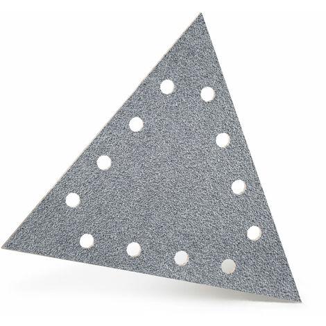 Disques abrasifs auto-agrippants MENZER, corindon semi-précieux avec stéarate, 290 x 250 mm, G40–400
