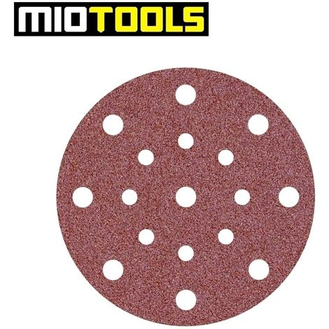 Disques abrasifs auto-agrippants MioTools, corindon normal, Ø 150 mm, G24–240