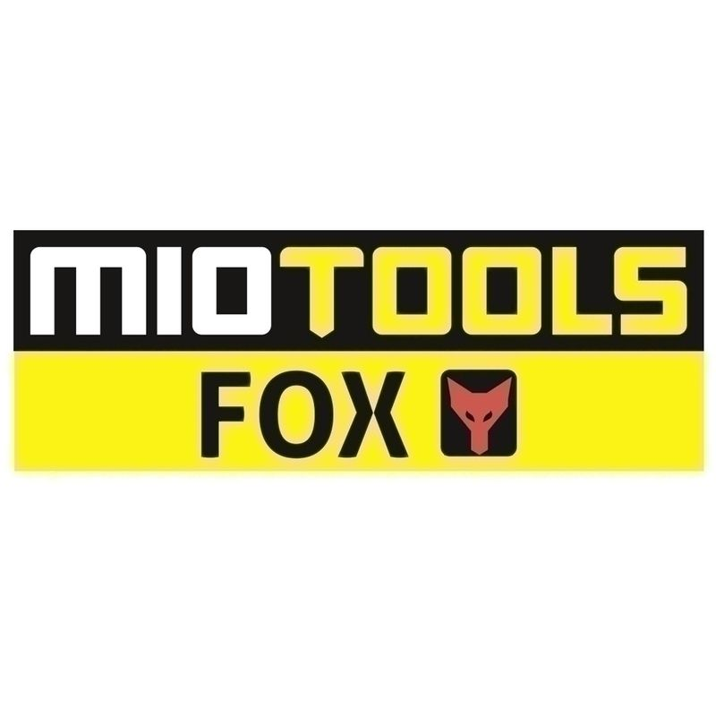 p Lot de 10 MioTools Fox Disques abrasifs auto-agrippants 225 mm 6 trous Grain 16 Ponceuses /à pl/âtre