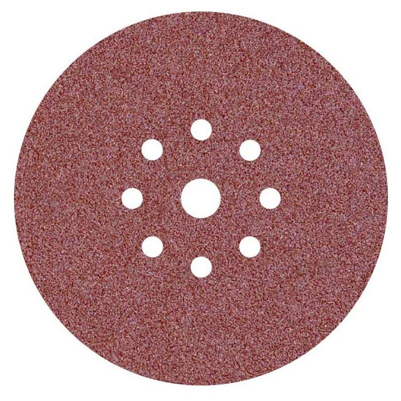 grain 180 /ø 150 mm 9 trous 50 Disques de pon/çage auto-agrippants MioTools pour ponceuse orbitale