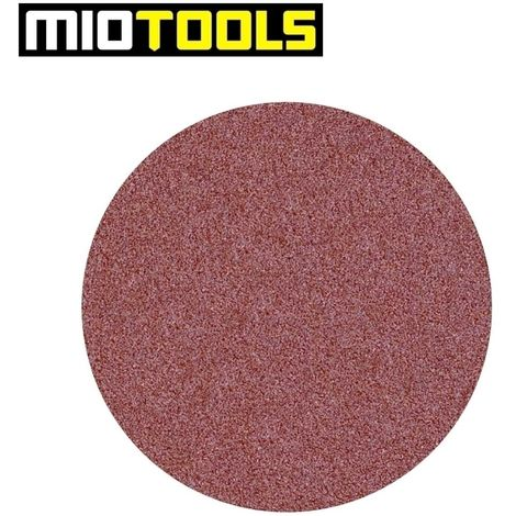 Disques abrasifs auto-agrippants MioTools, corindon normal, Ø 225 mm, G16–240