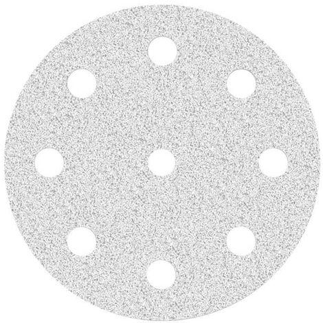 Disques abrasifs auto-agrippants MioTools, corindon normal avec stéarate, Ø 125 mm, G40–400