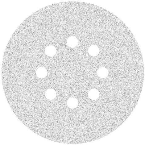Disques abrasifs auto-agrippants MioTools, corindon normal avec stéarate, Ø 150 mm, G40–400